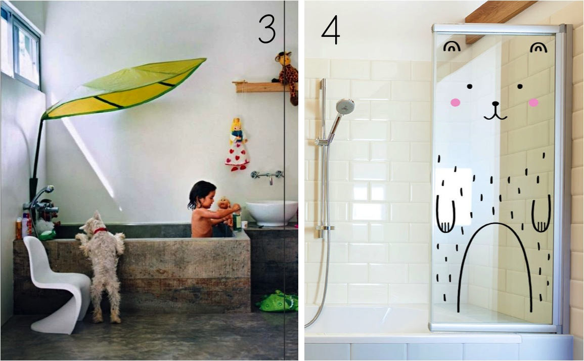 6 stylish decor ideas for kids bathrooms