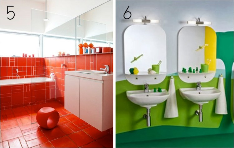 colourful kids bathroom ideas