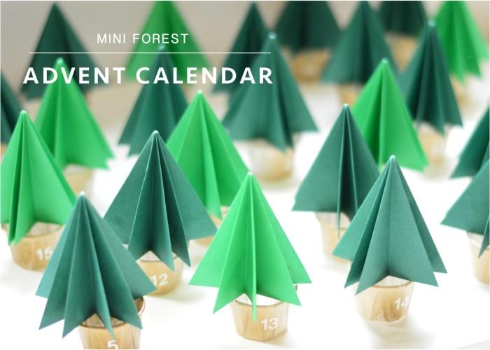 """DIY Christmas advent calendar"""