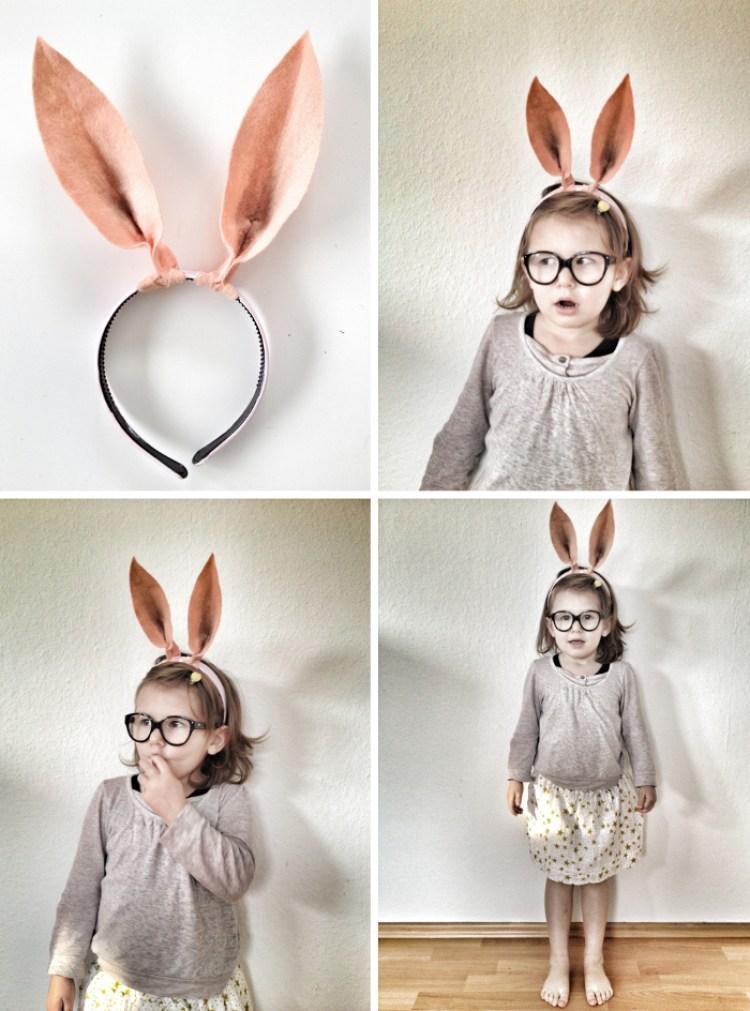 DIY Easter bunny ears