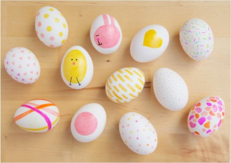 pretty easter egg decorating ideas