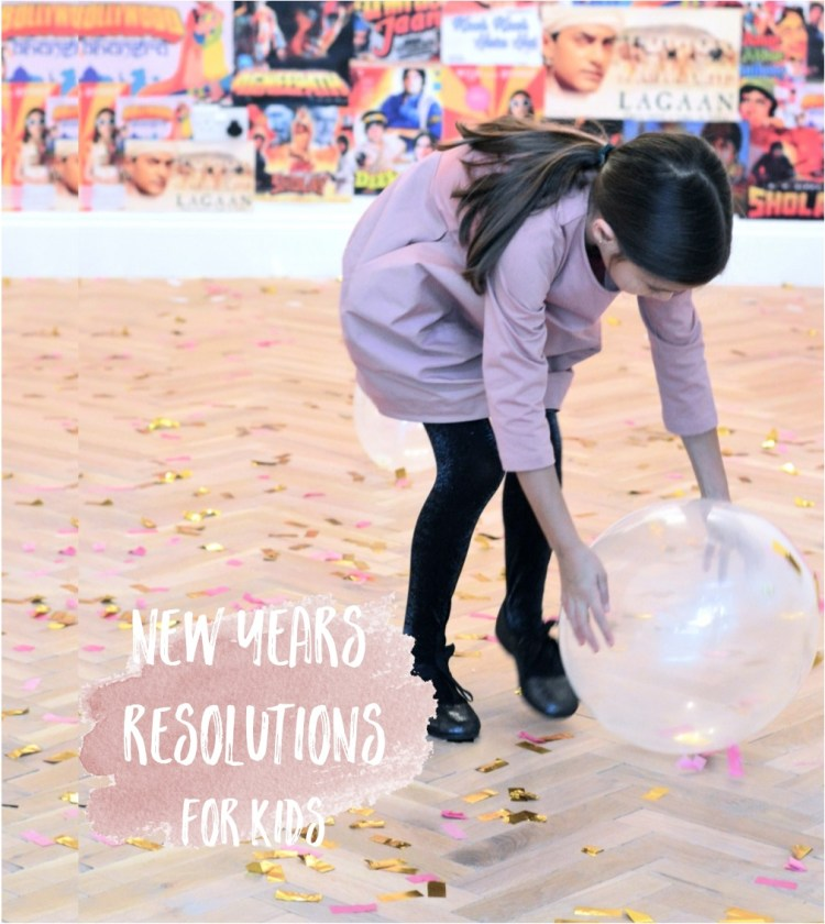 new years resolutions for kids