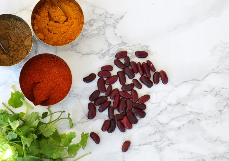 Indian style vegetarian chili recipe