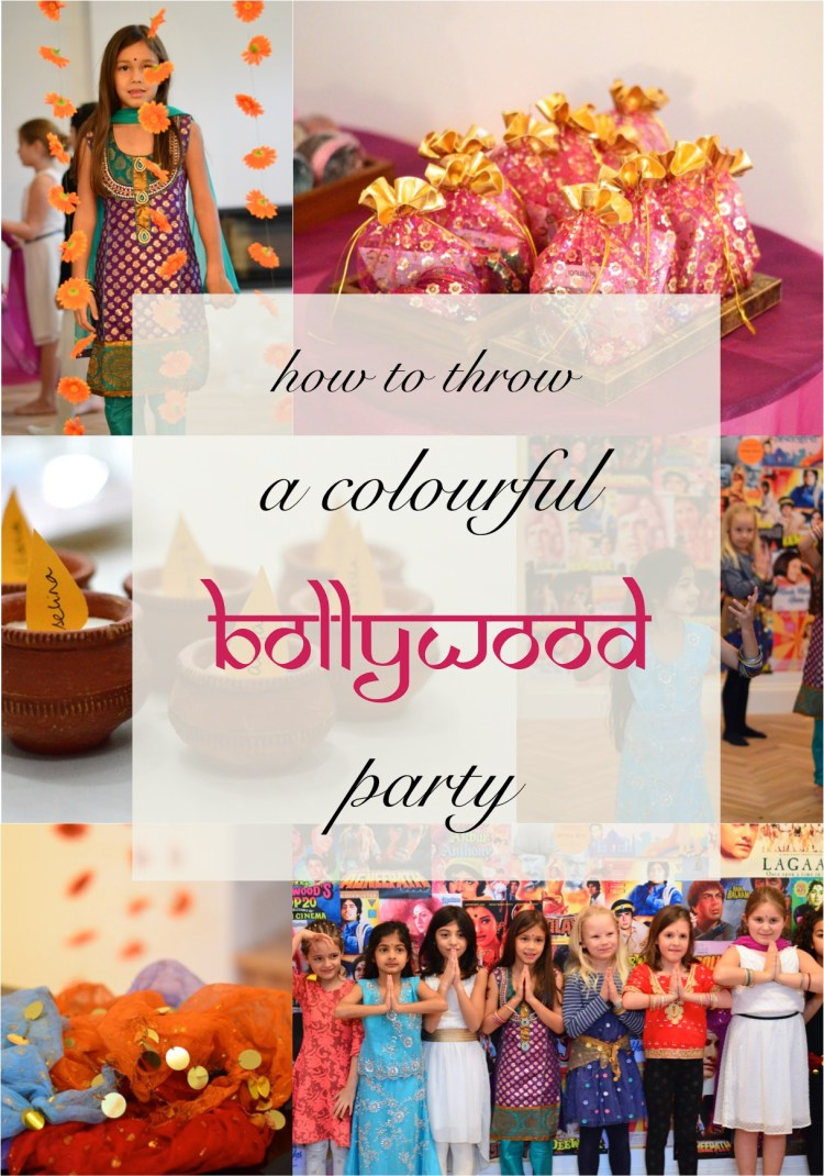 how to throw a Bollywood party