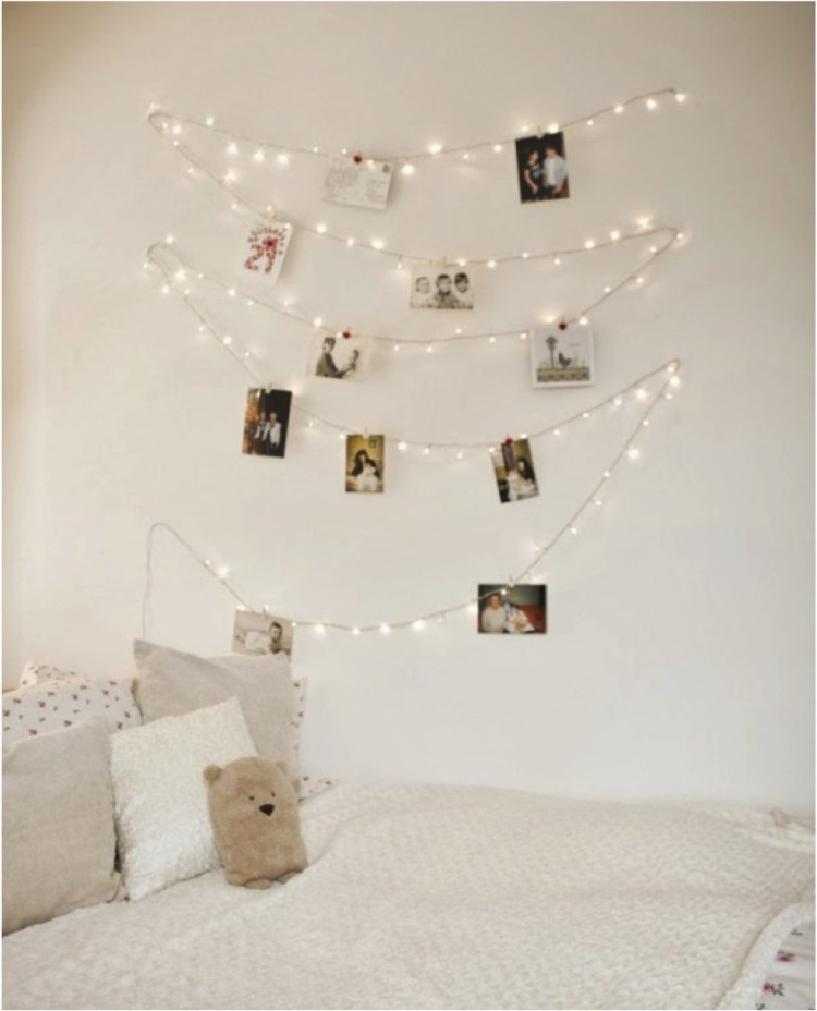 fairy light bedroom ideas