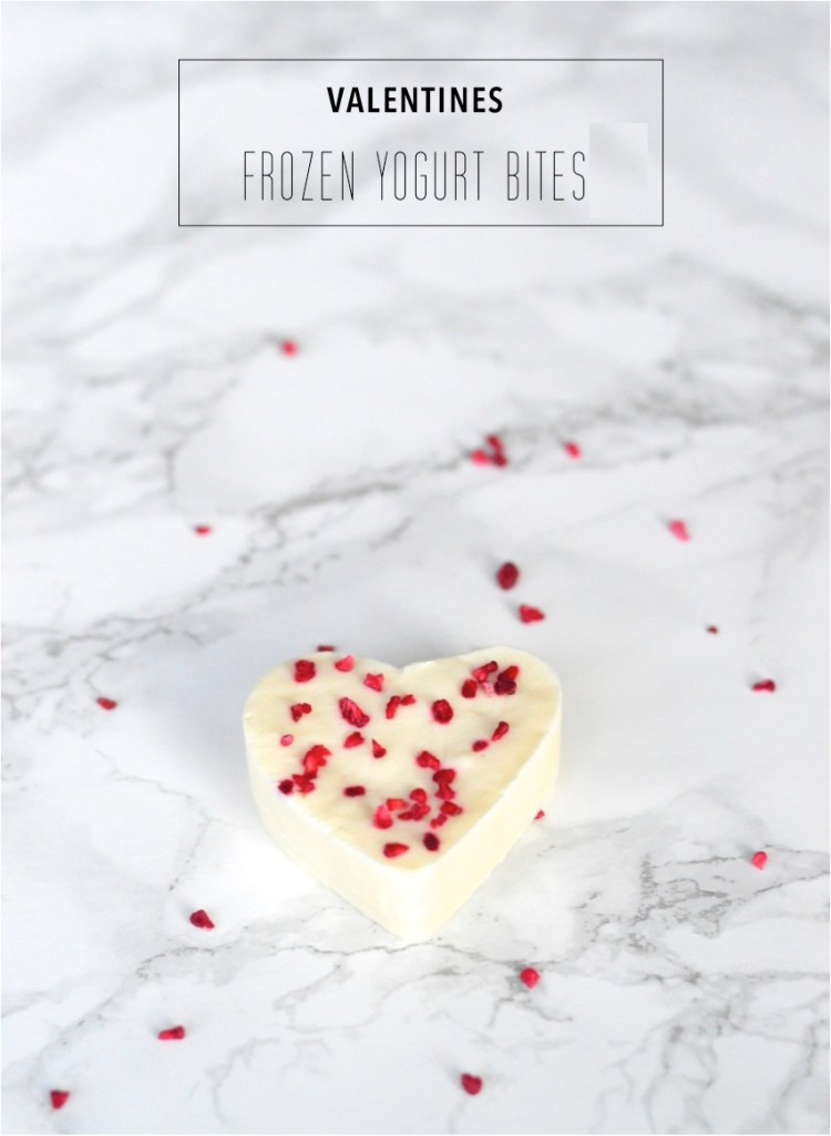 valentines frozen yogurt bites