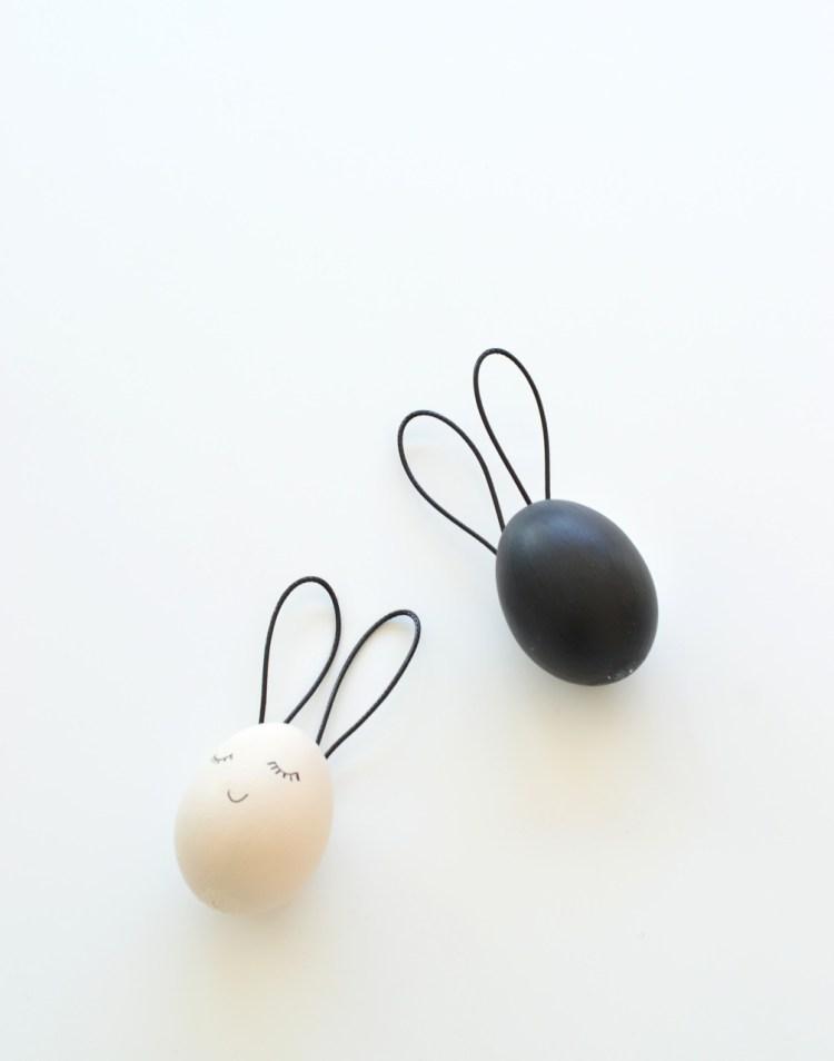 Easter egg bunny crafts