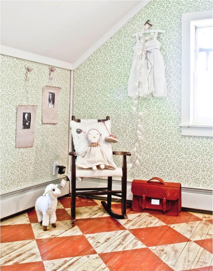 DIY vintage floor ideas
