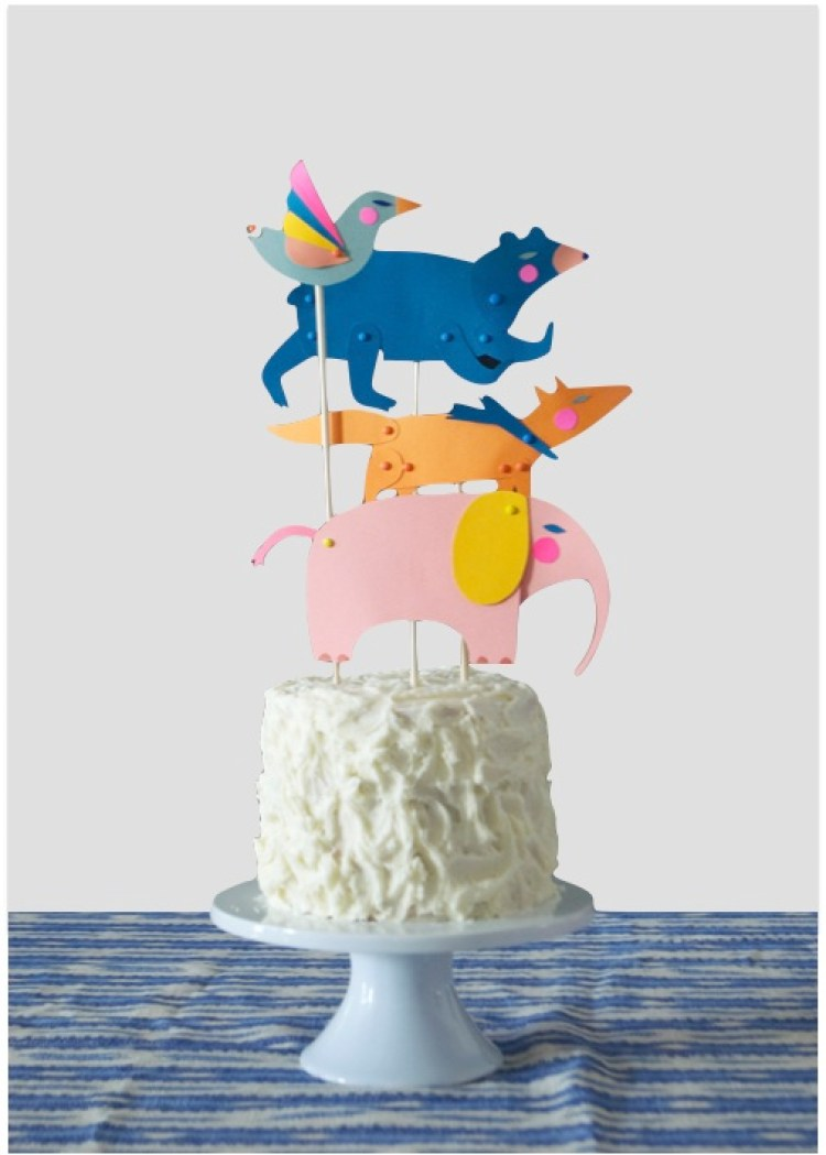 6 easy cake decorating ideas that anybody can recreate for Animal cake decoration