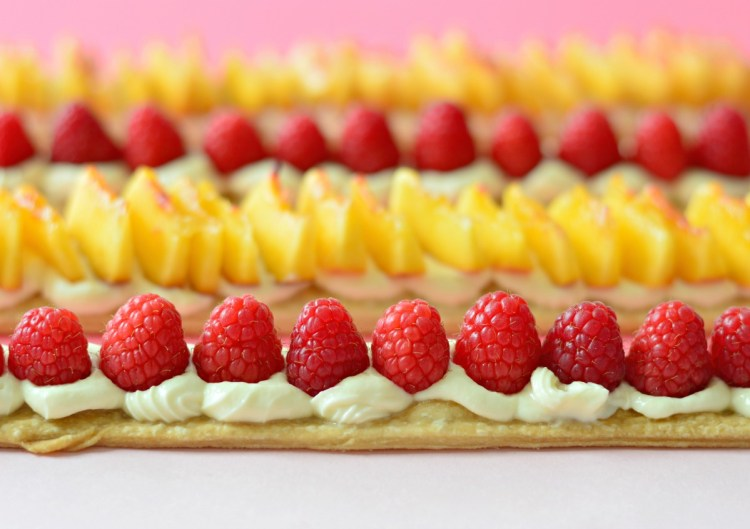 Easy Homemade Desserts Recipes With Few Ingredients: Feeling Fruity: Shortcrust Vanilla Fruit Slices