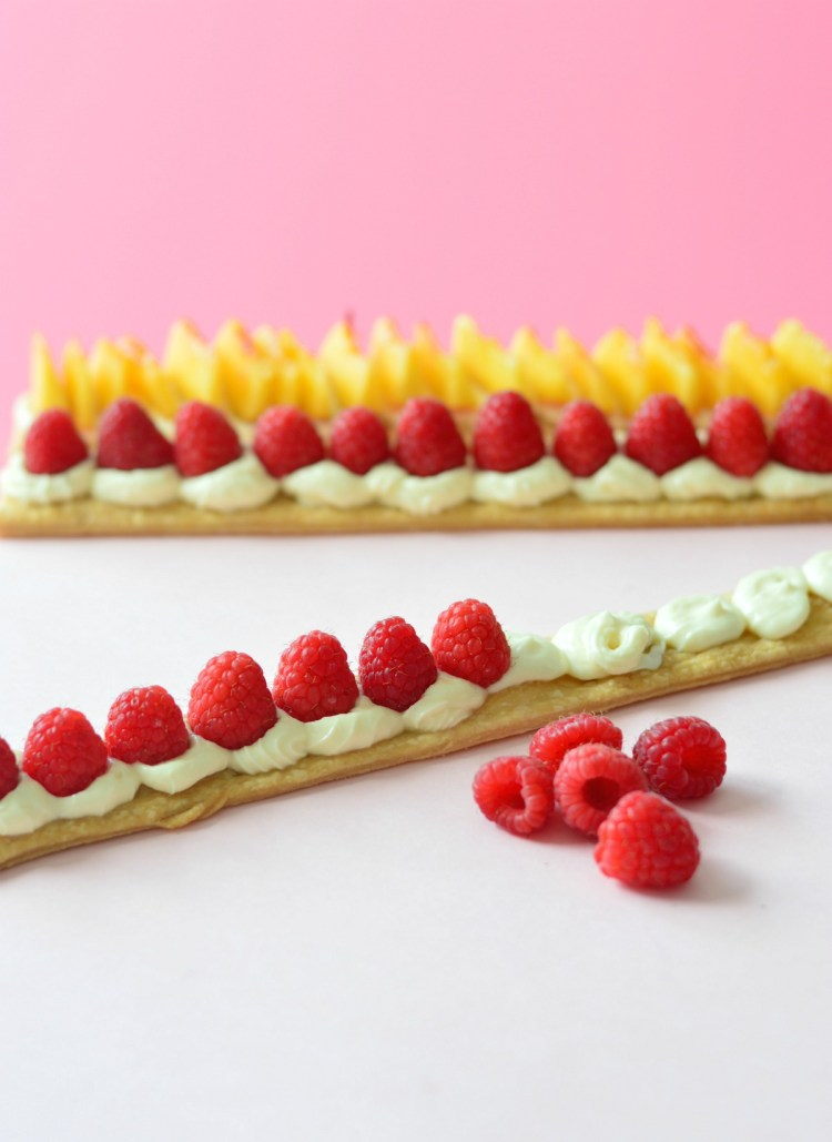 shortcrust fruit slices