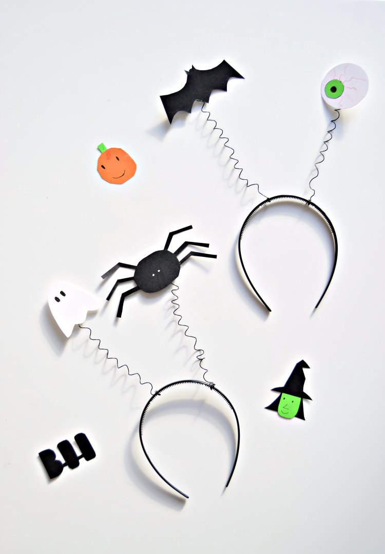 DIY Halloween headbands for kids