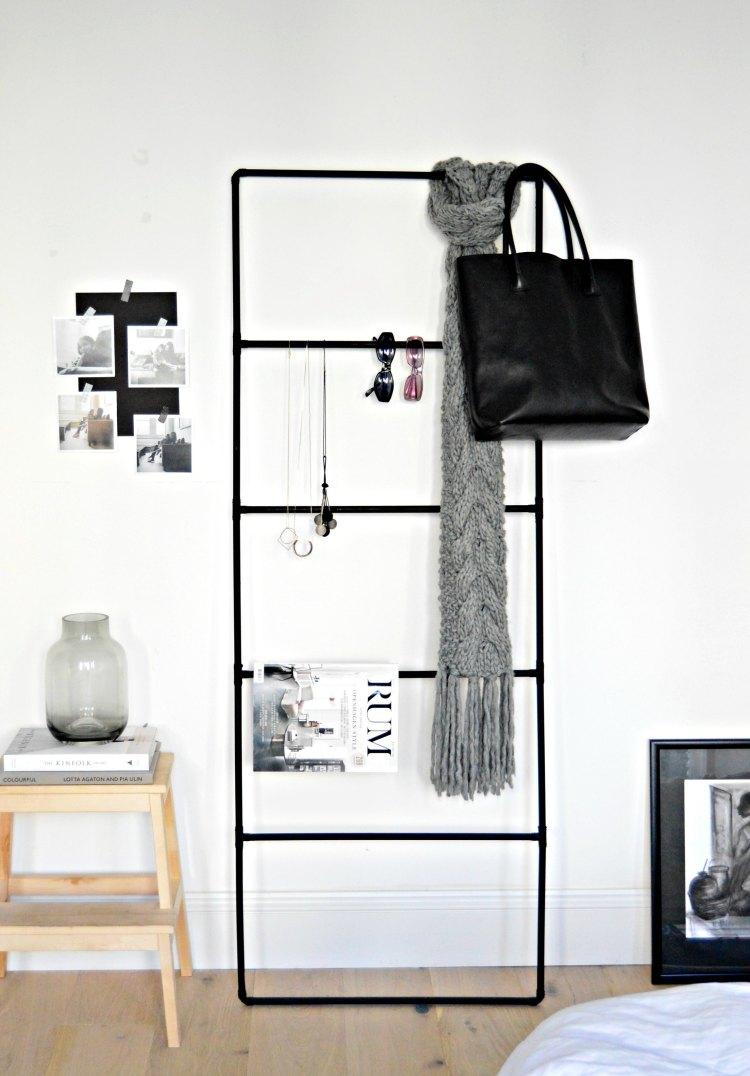 DIY accessory organiser