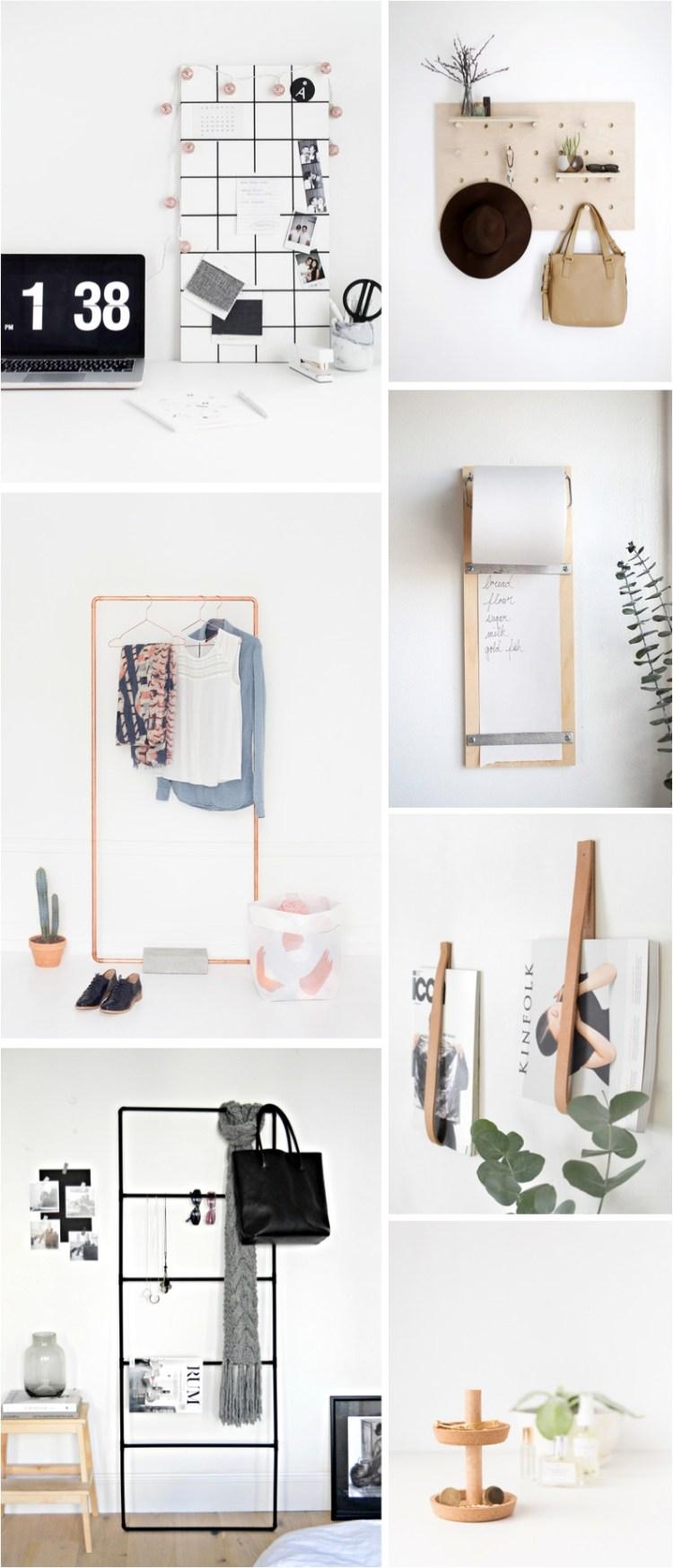DIY home organisation ideas