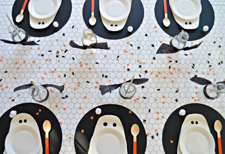 DIY Halloween table decor ideas