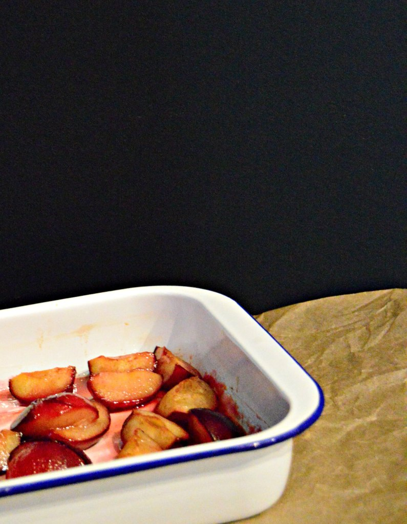 roasted plums recipe