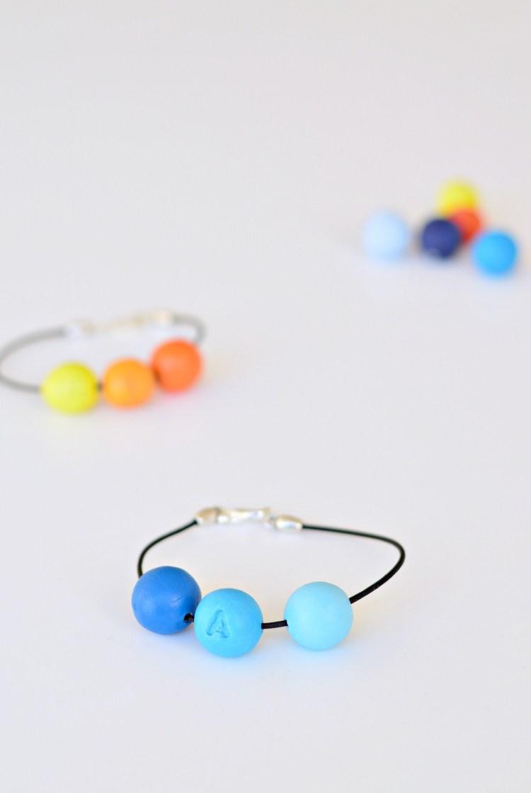 DIY personalised bracelet