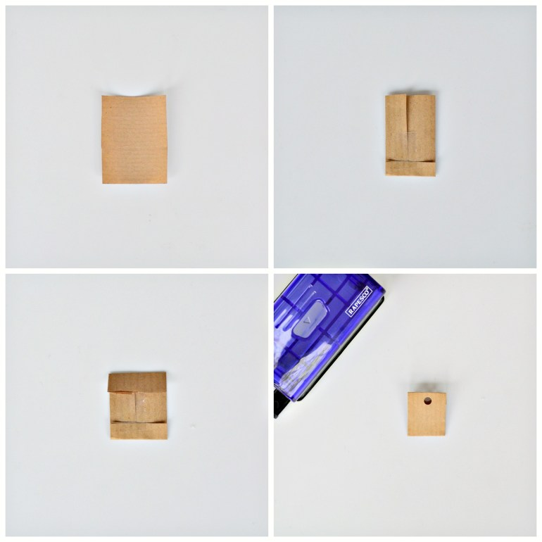 how to make mini envelopes for advent calendar
