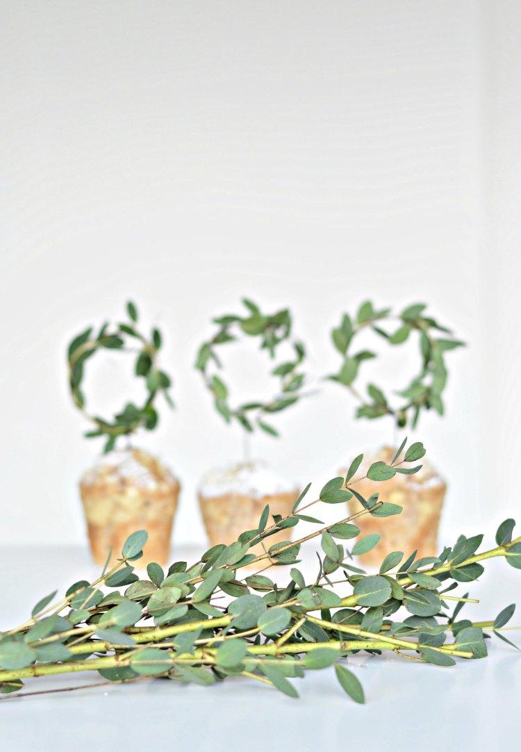 mini Christmas wreath crafts