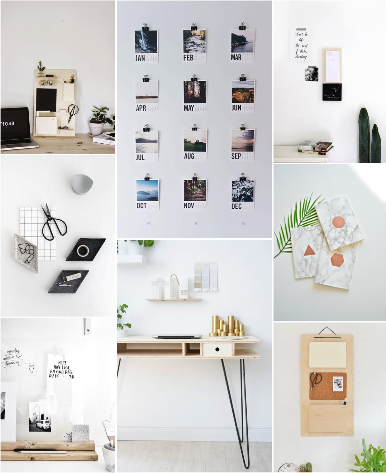- 8 DIY Desk Organization Ideas For A Small Home Office - DIY Home