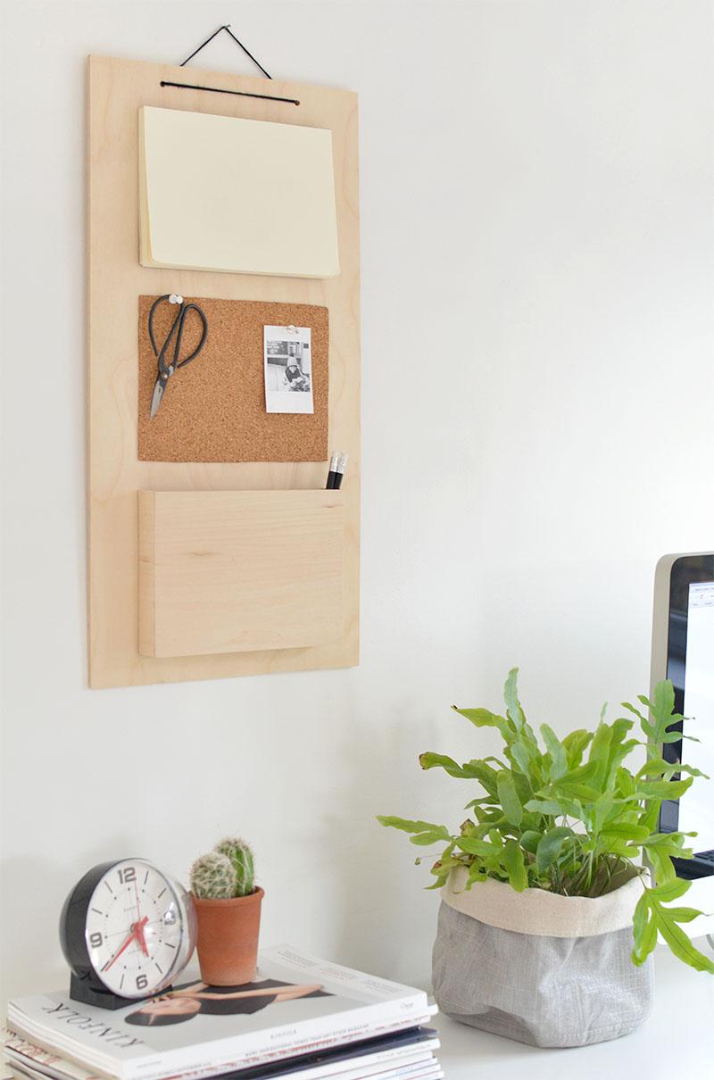 Office Desk Diy: 8 DIY Desk Organization Ideas For A Small Home Office