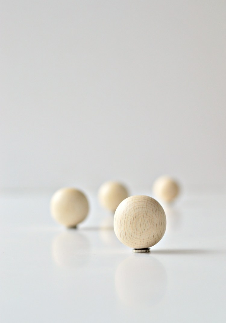 DIY fridge magnets wooden