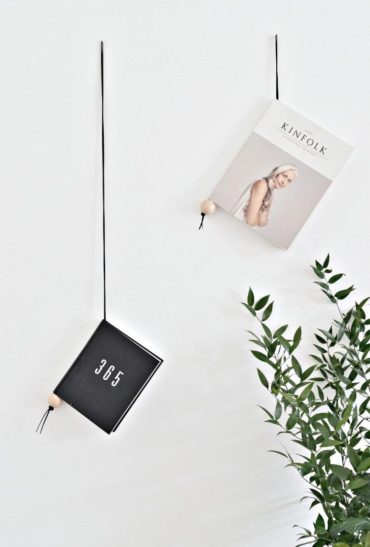magazine holder DIY
