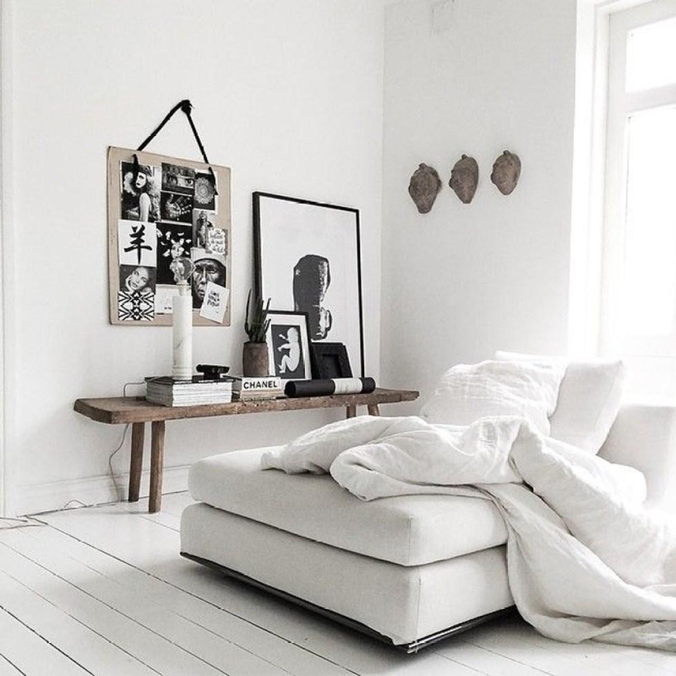 make a small living room feel bigger