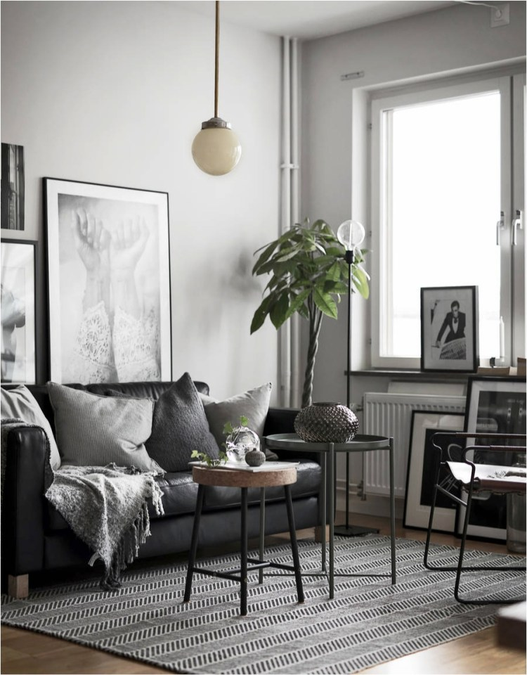 Small Living Room Design Ideas 2017: 8 Clever Small Living Room Ideas (with Scandi Style)