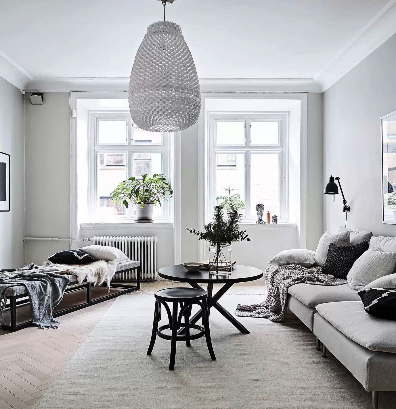 8 clever small living room ideas (with Scandi style) - DIY ... on Small Space Small Living Room Ideas  id=62546