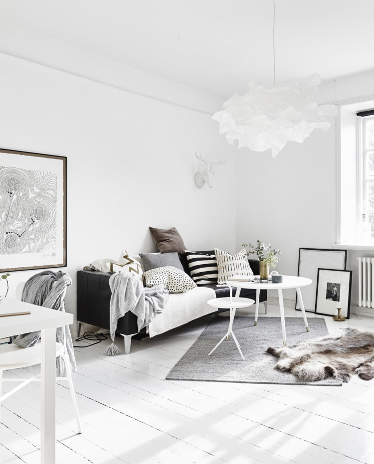 7 Apartment Decorating And Small Living Room Ideas: 8 Clever Small Living Room Ideas (with Scandi Style)