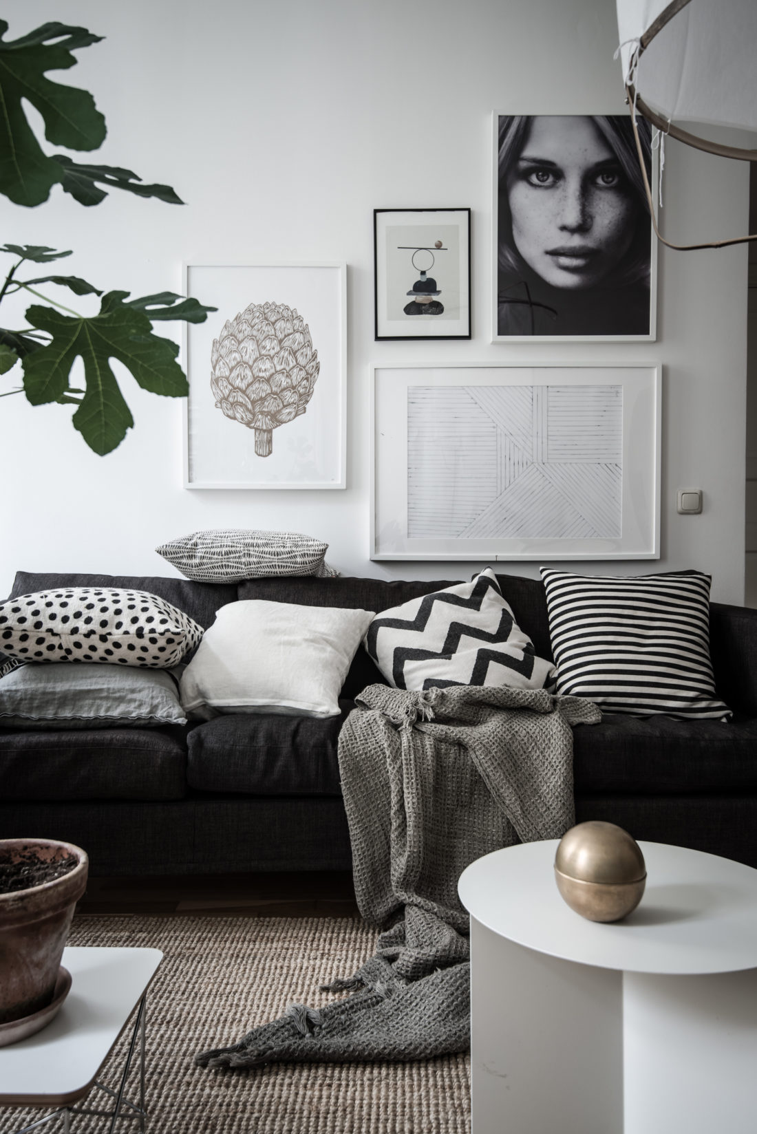 8 clever small living room ideas (with Scandi style) - DIY ... on Small Living Room Decor Ideas  id=18404