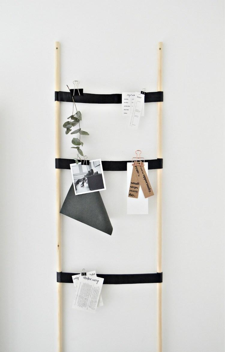 kitchen notice board diy