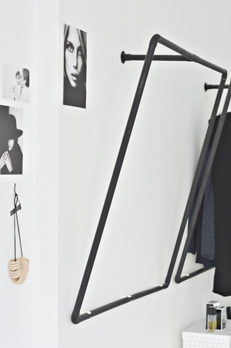 open wardrobe diy ideas