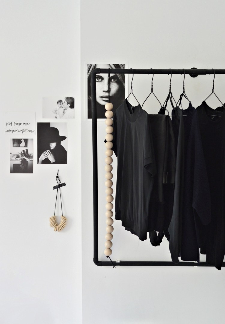 open wardrobe diy