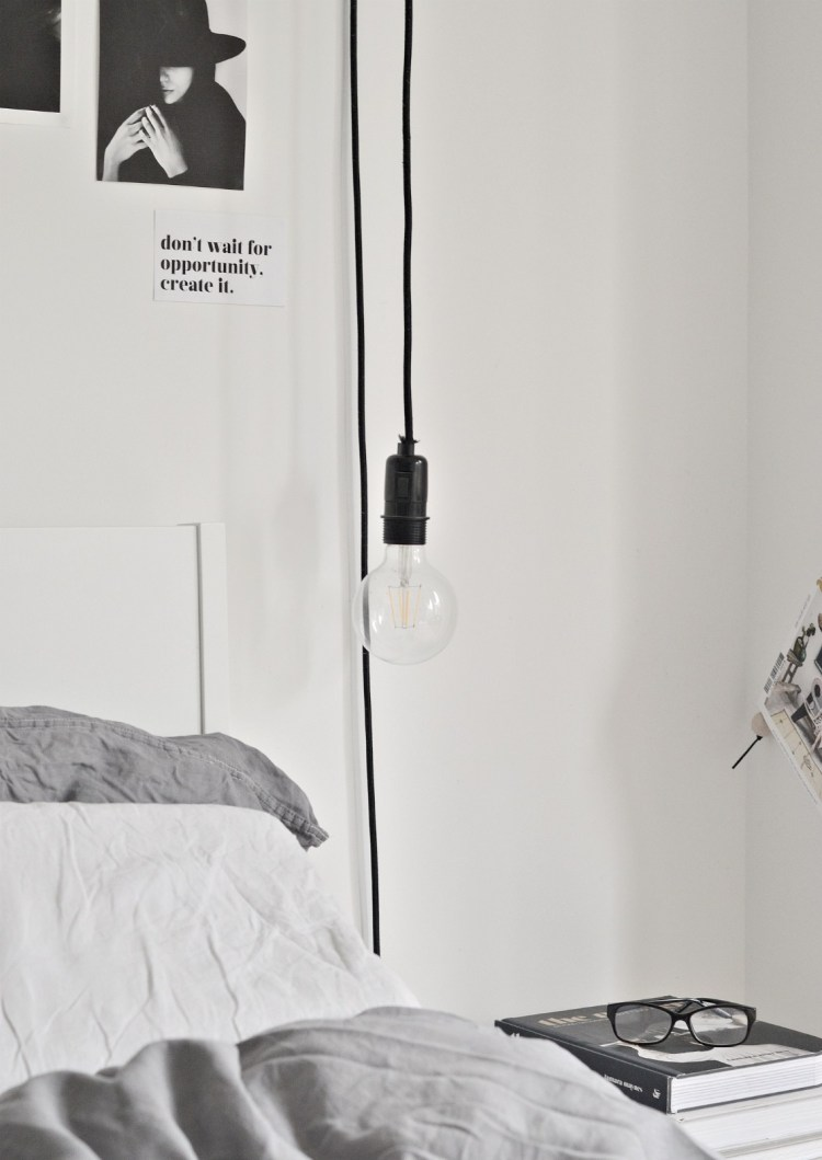 diy bedside lamps ikea hack