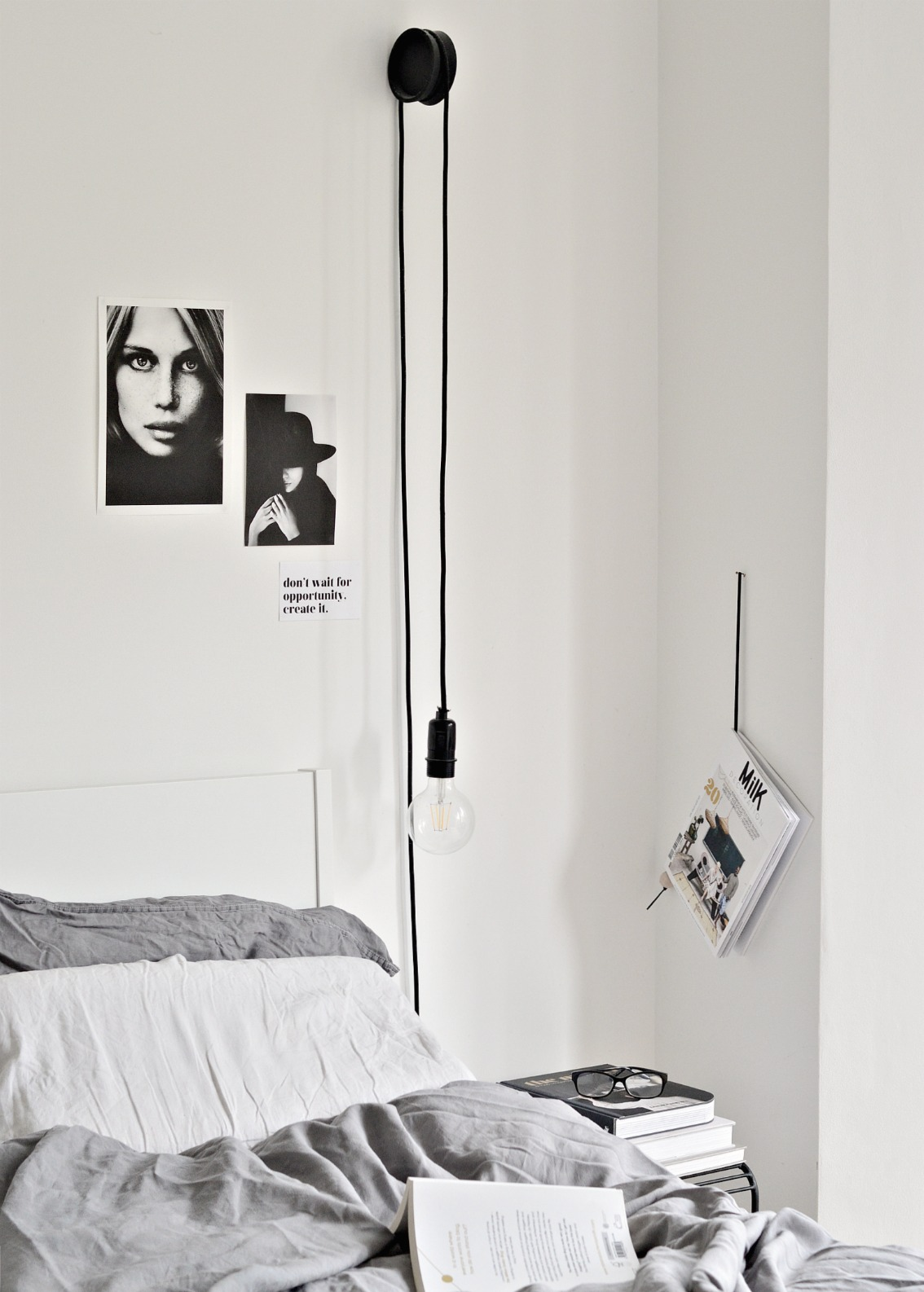 diy hanging bedside lamps with ikea coasters diy home decor