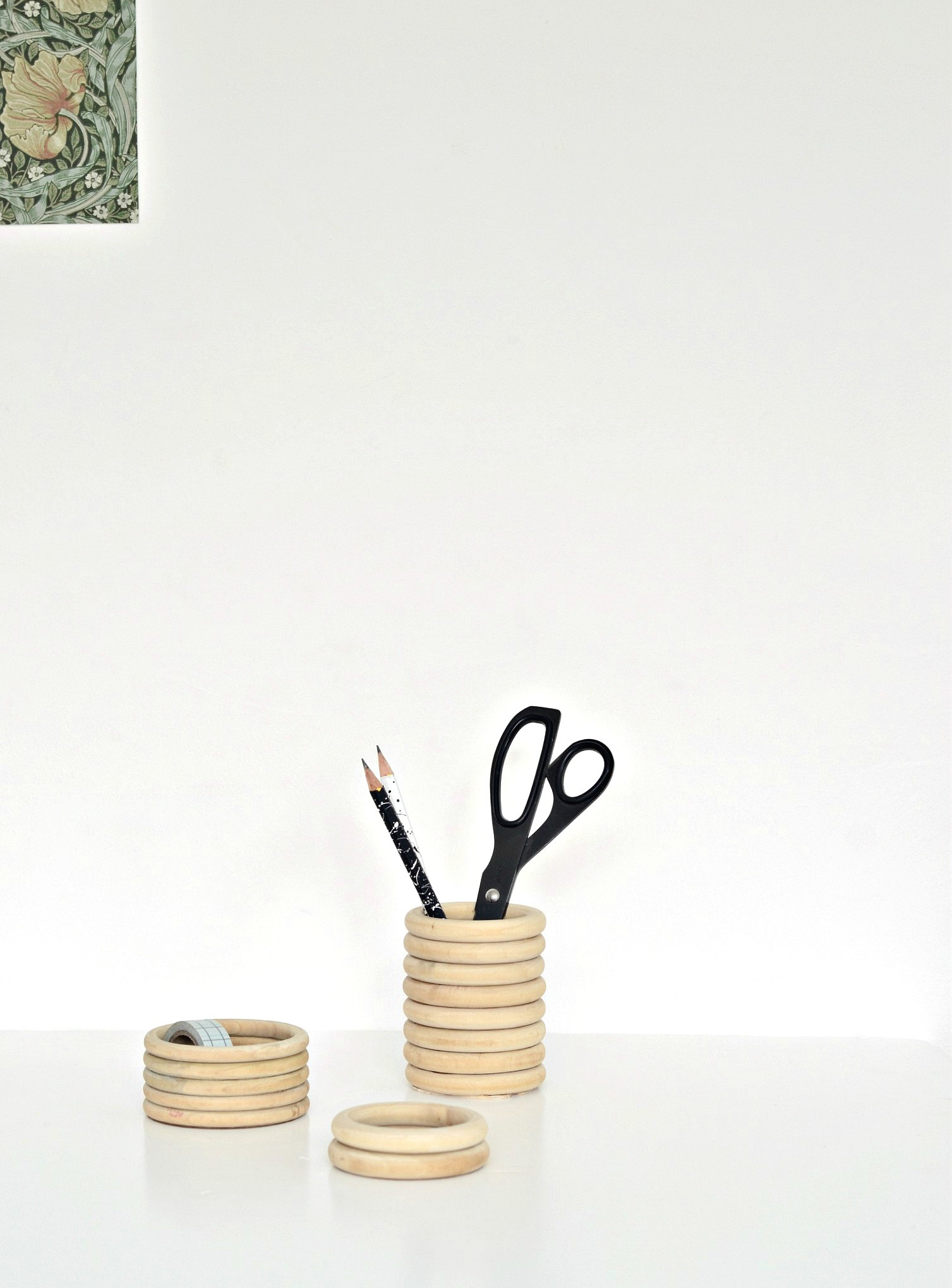 Make This Wooden Pencil Holder Diy With Gym Rings Diy