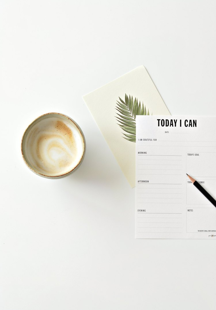daily planner printable pdf