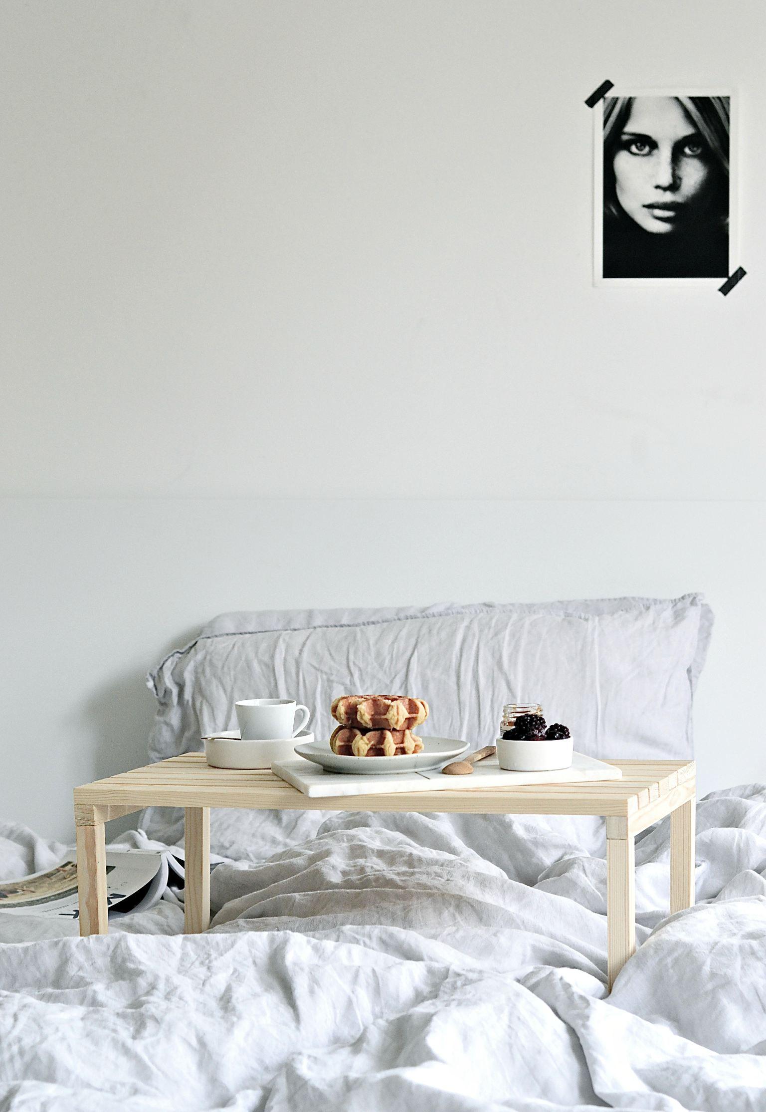 Diy Breakfast In Bed Table