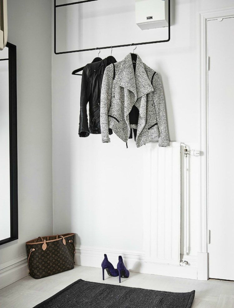 ideas for coat storage small entrance