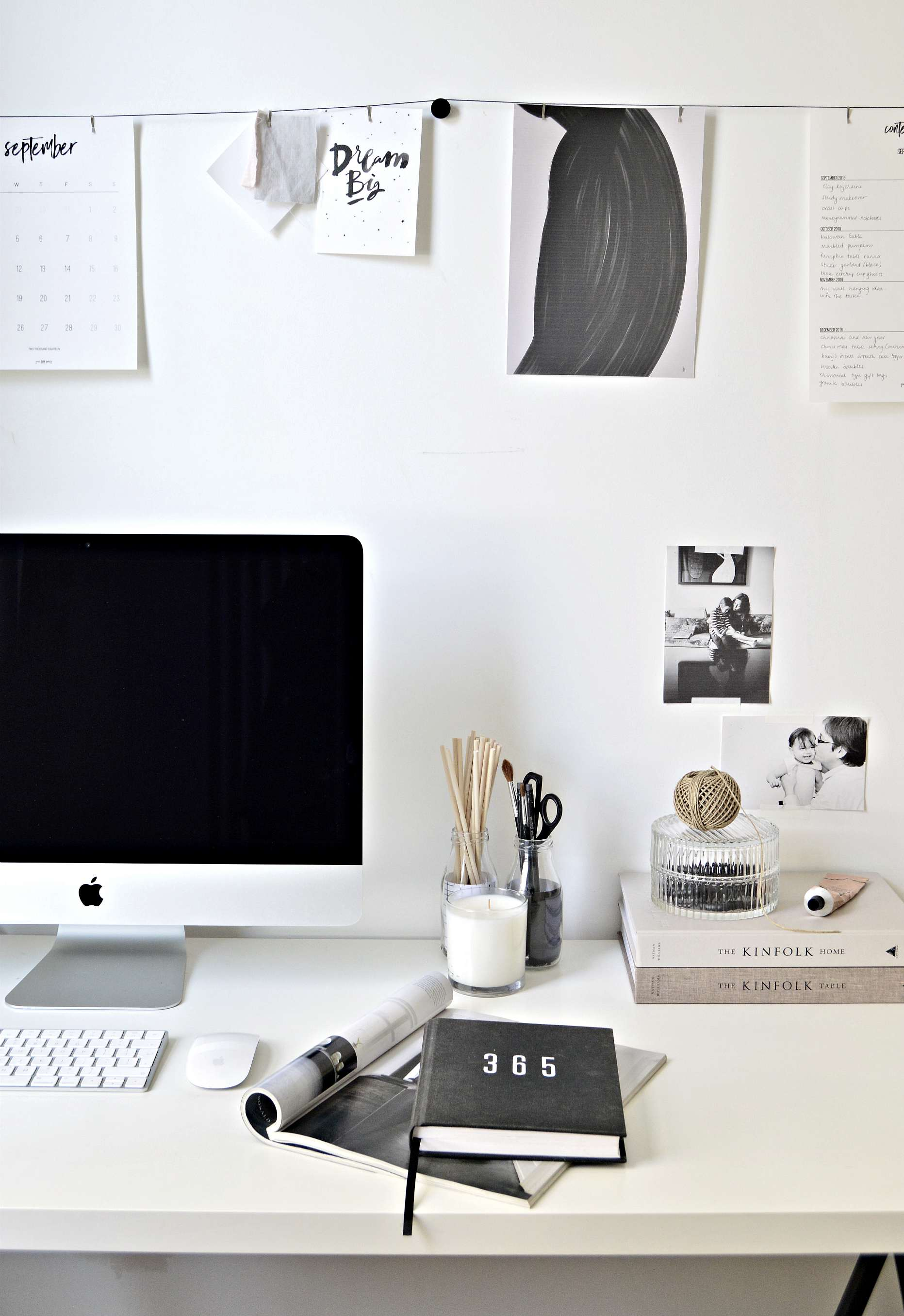 My workspace at home makeover (with before and after pics) - DIY ...