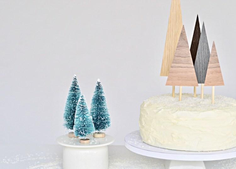 diy minimal Christmas crafts