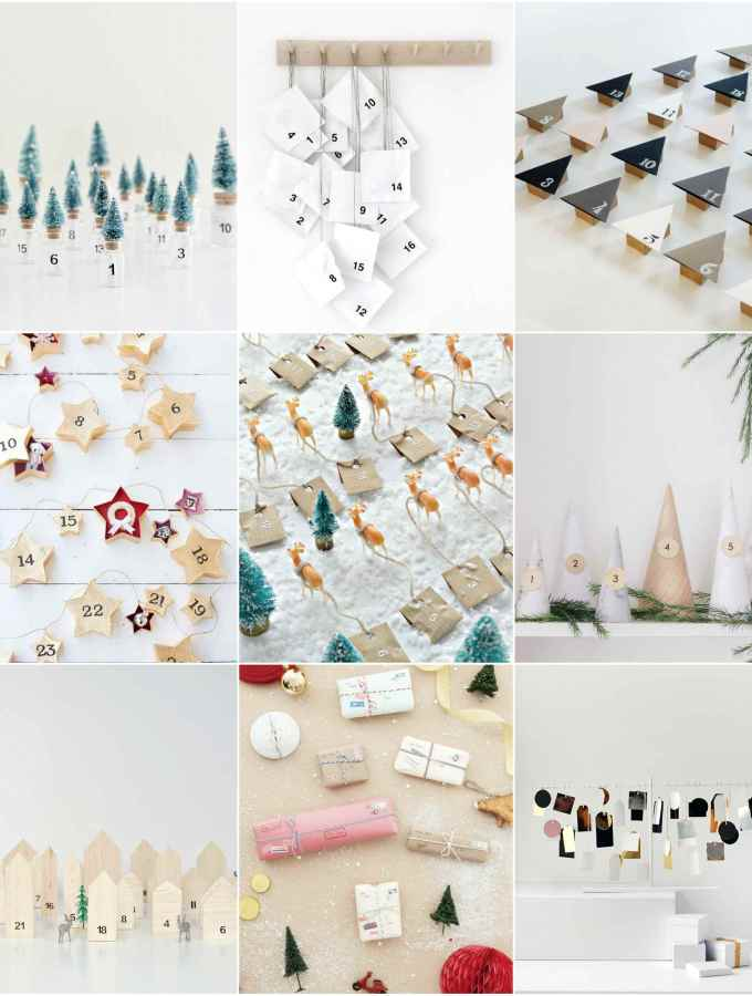 9 DIY Advent Calendar Ideas for Xmas