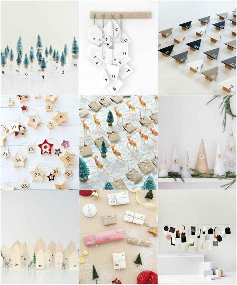 diy advent calendar ideas for Xmas