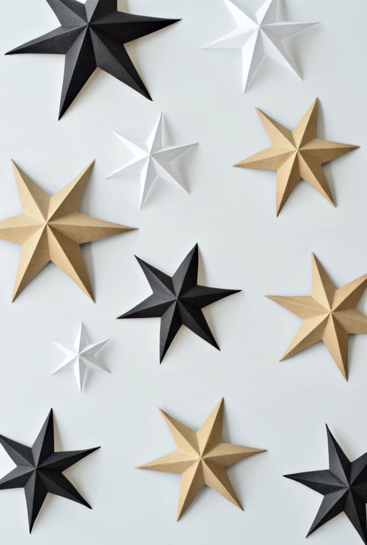 how to make paper stars easy