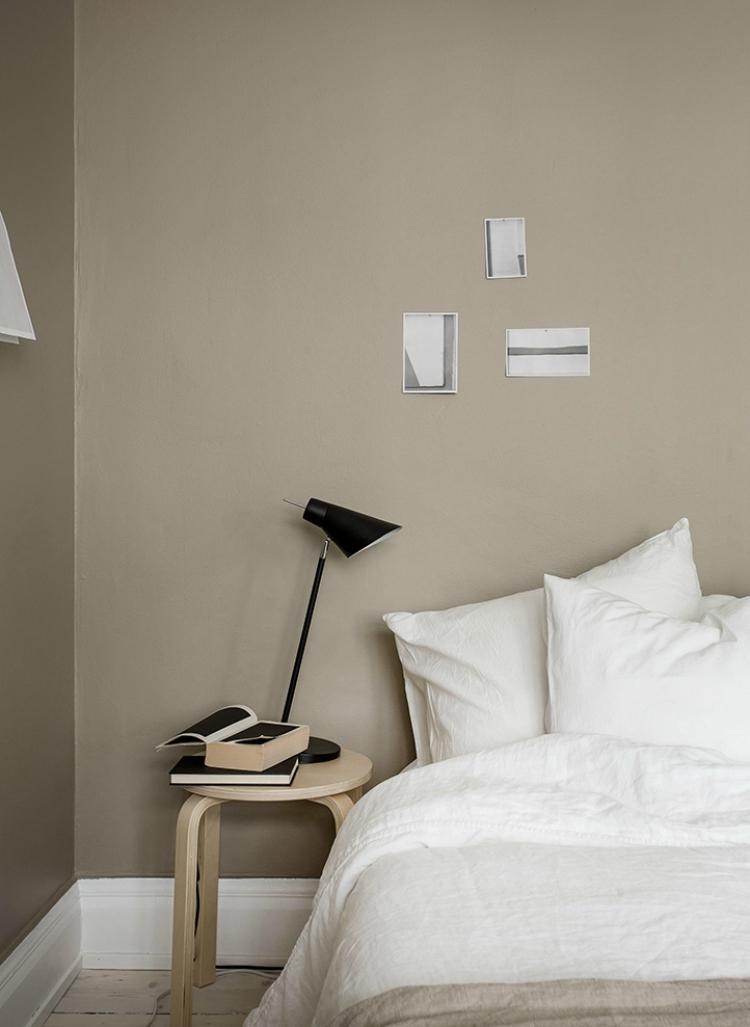 beige bedroom walls minimalist