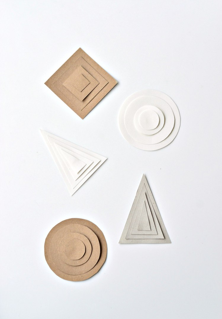 how to make Christmas decorations out of paper