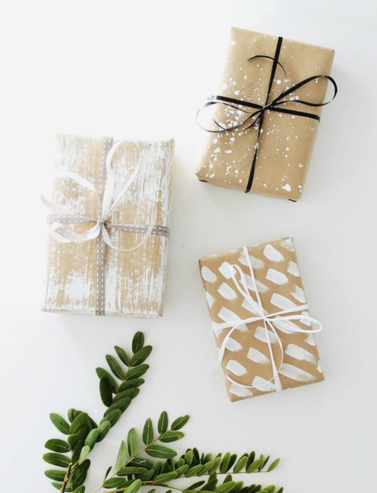 parcel paper gift wrap ideas