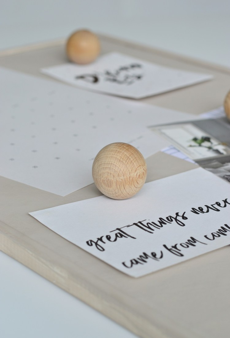Ikea pin board ideas